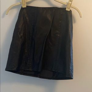 Urban Outfitters Faux leather skirt